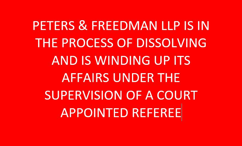 Peters & Freedman, L L P  - Southern California HOA Legal